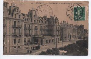 Cpa-carte-postale-64-Pyrenees-Atlantiques-Biarritz-l-039-Hotel-Victoria