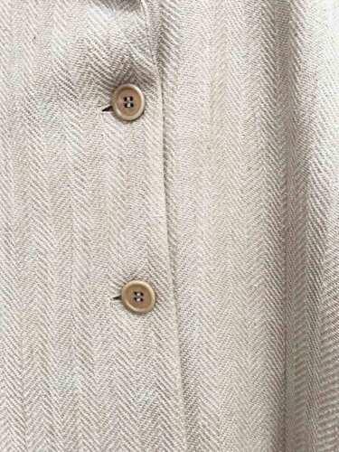 Designer Størrelse Garcia 40 12 Damejakke Tweed spansk Linen Purificacion rqE5RFWwr