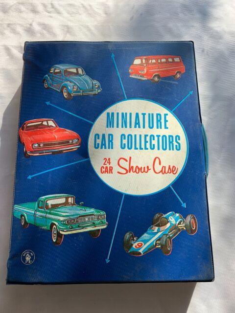 Vtg 1966 Mattel 24 Count Miniature Car Collectors Showcase Hot Wheels Matchbox