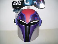 Star Wars Rebels Sabine Wren Full Face Molded Mask Adjustable Strap New