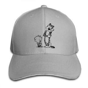 Tiger-Calvin-And-Hobbes-Adjustable-Cap-Snapback-Baseball-Hat