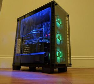 Details about Ultimate Gaming Computer PC i7 8700k 4 70GHZ - GTX 1080 Ti -  16GB - 250GB SSD