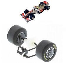 Scalextric W9614 Eje Trasero Rodamientos De Ruedas & Neumáticos Vodafone McLaren Mercedes F1