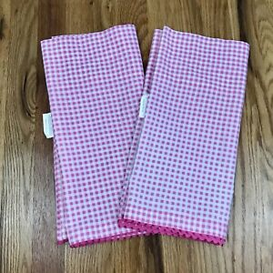 Jumping Beans Pink And White Gingham Valance With Ric Rac