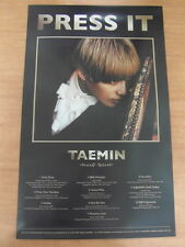 TAEMIN (SHINee) - Press It (Ver. A)  [OFFICIAL] POSTER K-POP *NEW*