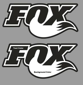 Fox Stickers Decals Set 2 Graphics Fox Racing Mtb Dh Freeride Race