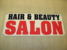 HAIR & BEAUTY SALON Banner Sign NEW XL Extra Large 4 Barber Shop Nail Supply Tip
