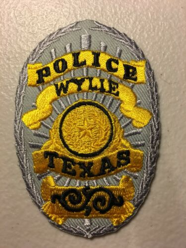 Wylie Texas Police Department Patch Tx