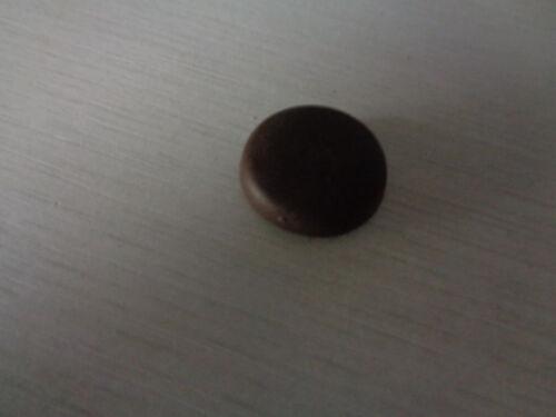 WÜRTH Abdeckkappe flach mit Bund für Metallrahmendübel Dunkelbraun