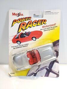 Maisto-Power-Racer-Corvette-1-43-Diecast-Silver-NOC-1995
