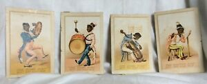 Antique Black Americana Acme Soap Trade Cards - Lot 4