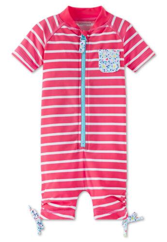 NEU Schiesser Bade Jumpsuit Badeanzug Mädchen Sonnenschutz UV Schutz 40