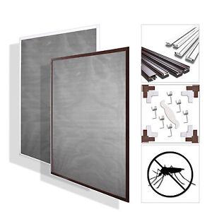 fliegengitter insektenschutz m ckenschutz alurahmen 5 gr en 2 farben ebay. Black Bedroom Furniture Sets. Home Design Ideas