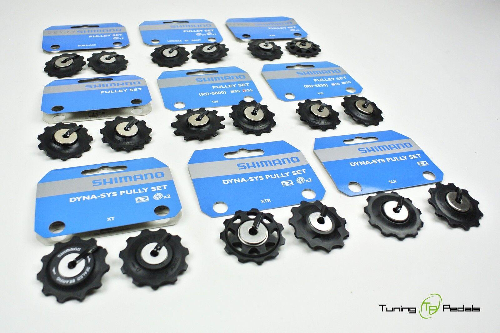Shimano 10 Veces Pulley Set,Ruedas Direccionales,Juego Desplazante Deore,Slx ,