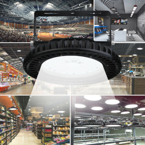 100W//200W//300W UFO LED Hallenbeleuchtung Industrielampe High bay Hallenstrahler
