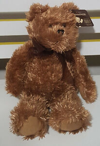 TEDDY-AND-FRIENDS-TEDDY-BEAR-MAKENZIE-PLUSH-TOY-SOFT-TOY-ABOUT-23CM-SEATED