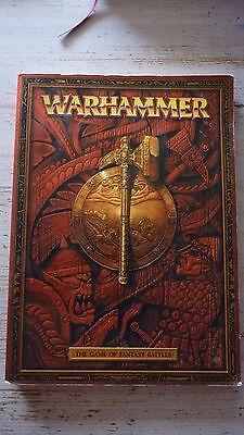 Sito Ufficiale Warhammer Fantasy Battles Regola Libro Circa 2000 Fuori Catalogo Raro Vintage-mostra Il Titolo Originale