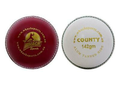 156gm Turf 40 /& 80 OVERS Premium Quality 100/% Pure LEATHER 4 Piece  Cricket Ball