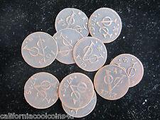 1 - PREMIUM Coin 1st New York Penny Dutch Duit Copper East Indies 1,700's A.D.