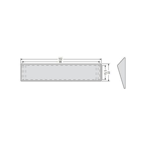 1 Stück Renz Sichtglas mit Haltekeilen Neu /& OVP