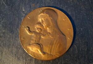 wunderschoene-alte-Medaille-Arnold-Hartig-Ave-Maria-seltenes-Sammlerstueck