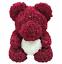 thumbnail 6 - 25cm 10inch Flower Rose Bear Gift Box option Mother's Day Valentine Anniversary