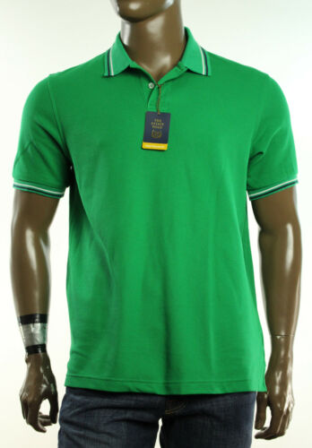 NEW CLUB ROOM  PERFORMANCE  UPF PROTECTION THE ESTATE COTTON  POLO SHIRT