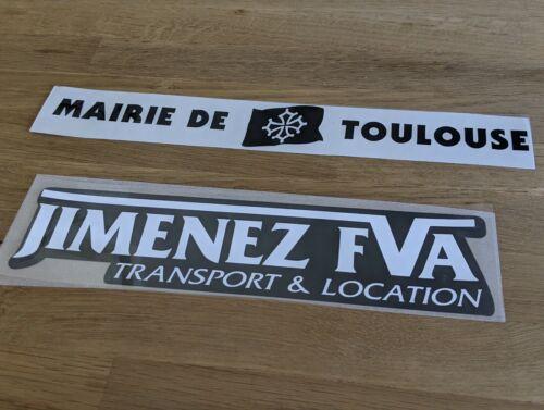 Patch Sponsor Maillot rugby Stade Toulousain Toulouse Top 14 Flocage Numéro