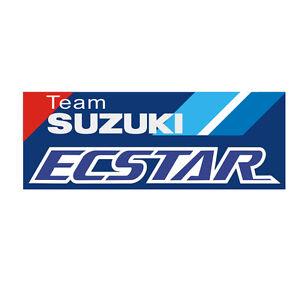Sticker-plastifie-TEAM-SUZUKI-ECSTAR-MOTO-GP-GSX-RR-4-5cm-x-12cm