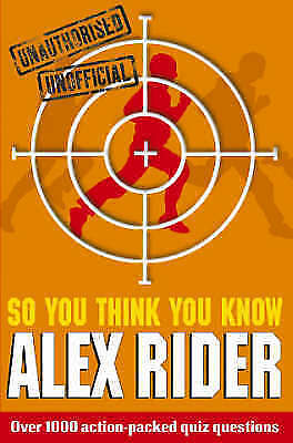 1 of 1 - Very Good, So You Think You Know Alex Rider, Gifford, Clive, Book