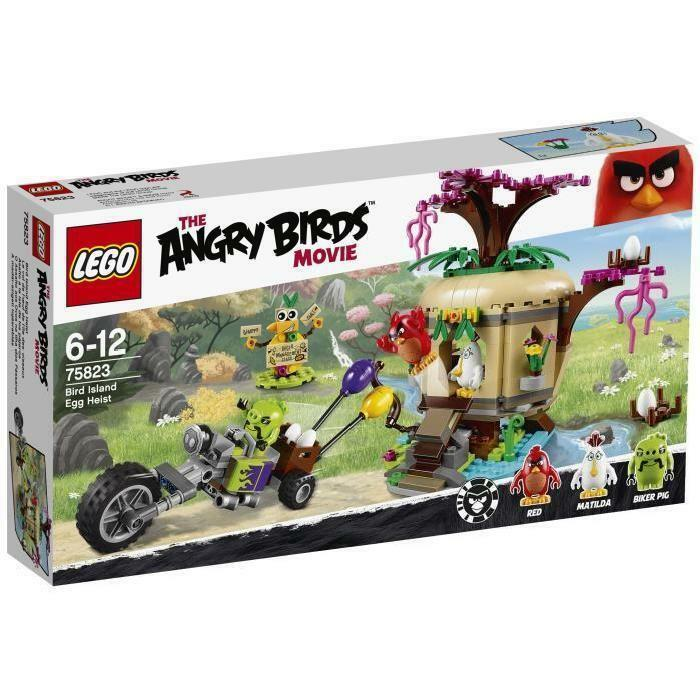 LEGO Angry Birds 75823 Le Vol de l'Oeuf de l'île des Oiseaux