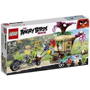 LEGO Angry Birds 75823 Le Vol de lOeuf de lile des Oiseaux