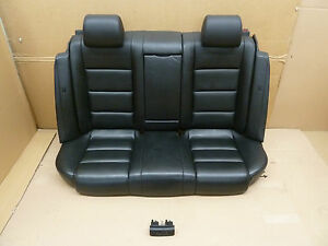Audi a4 b6 b7 limosine leather back seat rear seat heated for Interieur cuir audi a4 b7