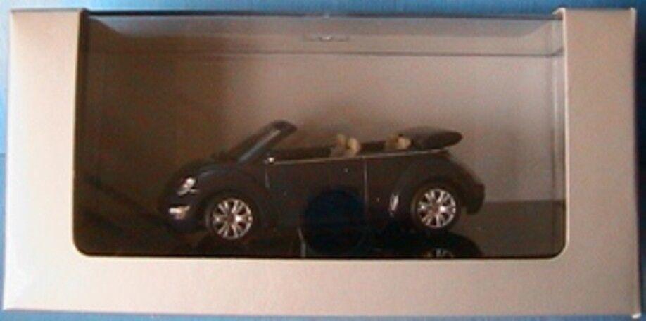 VW NEW BEETLE CABRIOLET 2003 NAVY bleu AUTOART 1 43 43 43 f96ee9