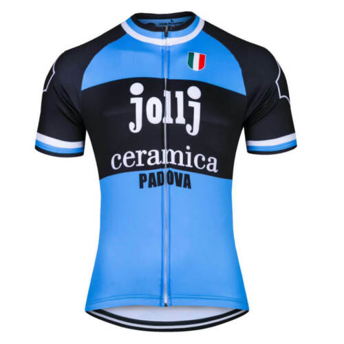 JOLLJ CERAMICA PADOVA RETRO Cycling Jersey Bike Ropa Ciclismo MTB Maillot