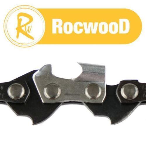 .050 1.3 mm Disque 47 DL liens tronçonneuse scie à chaîne boucle 3//8LP 2 Rocwood 3//8 LP