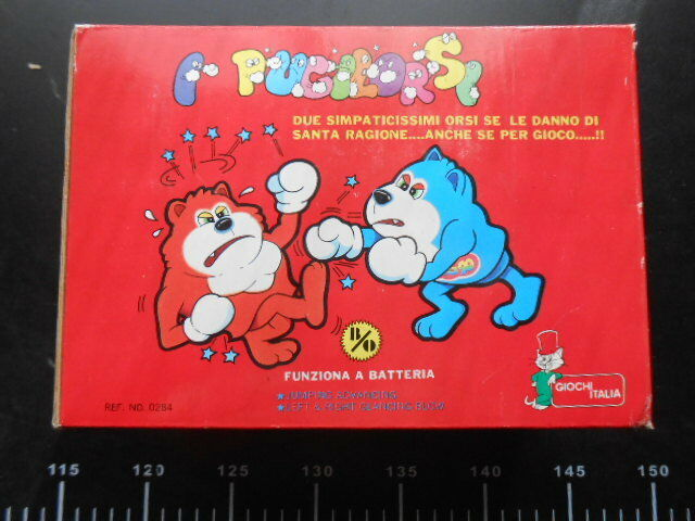 Game Table Board Game pugilorsi games  Fighters Challenge ring bears figures