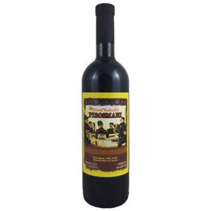 Rotwein Pirosmani  0,75L  georgischer Wein halbtrocken