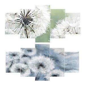 Dandelion-5D-Full-Drill-Diamond-Painting-Craft-5-pictures-Kit-Cross-Stitch-Decor