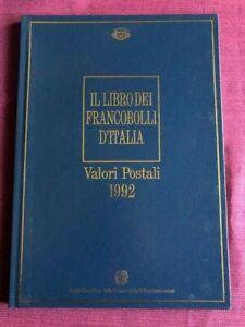 FRANCOBOLLI-1992-LIBRO-BUCA-DELLE-LETTERE