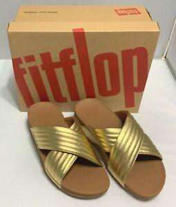 FitFlop Women Lulu Padded Artisan Gold