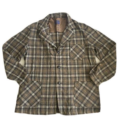 Vintage PENDLETON Flannel Virgin Wool Shirt Shadow
