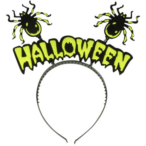 HALLOWEEN BOPPER HEADBAND BAT HAIR BAND SPIDER ALICE BAND WITCH HEAD BAND BOPER