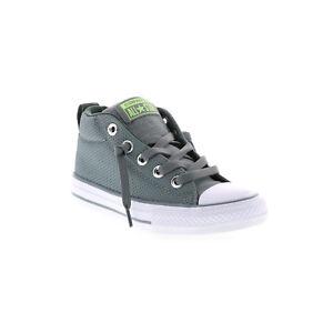 ea7f626b950 Converse Chuck Taylor All Star Street Mid Canvas Sneaker Color Grey ...