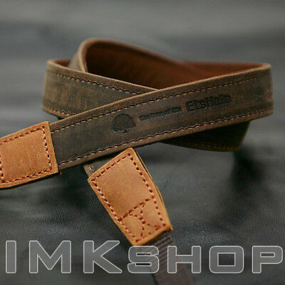 NEW MATIN Vintage-20 Brown Leather Camera Strap for Canon Nikon SONY DSLR SLR