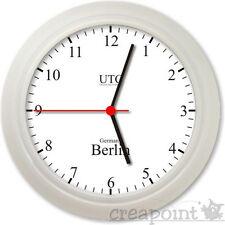 #036 Wanduhr  -> Weltzeit Berlin New York Tokio Sydney