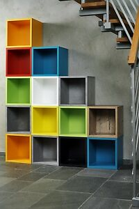 Image Is Loading CLEARANCE CLICK CUBE RANGE BOOKCASE SHELVING BOOKSHELF STORAGE