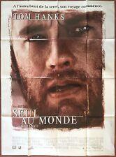 Affiche SEUL AU MONDE Cast Away TOM HANKS Helen Hunt 120x160 *D
