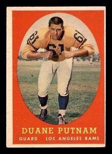 DUANE-PUTNAM-1958-TOPPS-1958-NO-55-EX-22699