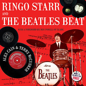 Ringo-Starr-And-The-Beatles-Beat-Signed-1st-Edition-415-Page-Hardback-Book
